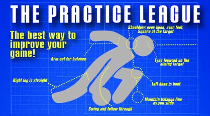 The Practice League logo